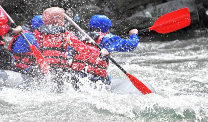 Rafting in Sautens