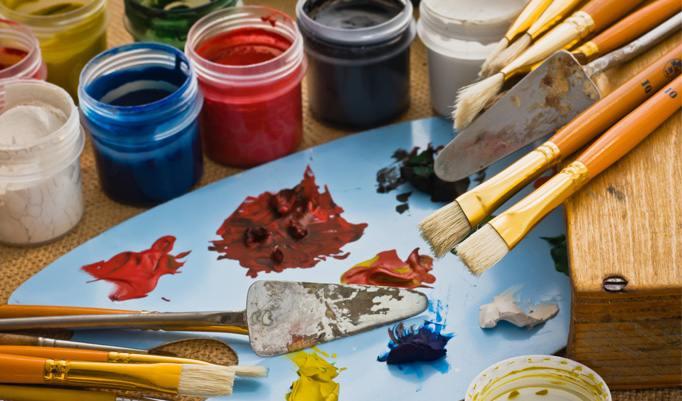 Zeichnen lernen Farbpaletten