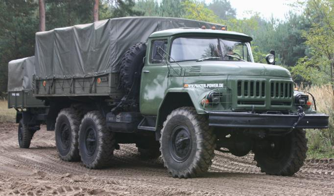 Militär Truck Trial in Benneckenstein