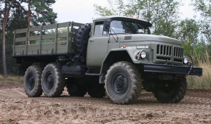 Militär Truck Trial in Benneckenstein