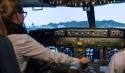 Flugsimulation in Boeing 373