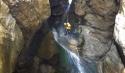 Abseilen beim Canyoning