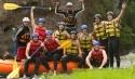 Rafting in der Gruppe