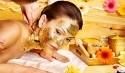 luxuriöse Gold Massage