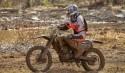 Motocross im Schlamm