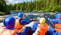 Rafting Gruppe