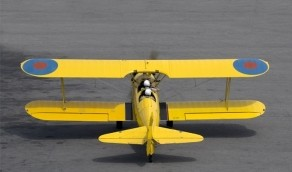 Kunstflug in einer Boeing Stearman