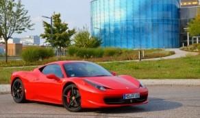 Renntaxi Ferrari F