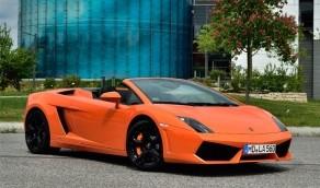Rennwagen Lamborghini fahren