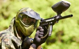 Paintball spielen