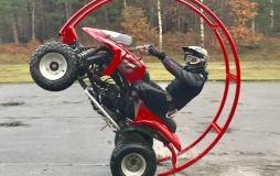 Quad Stunttraining