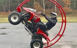 Quad Stunttraining