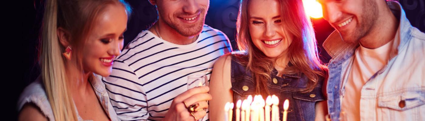 Volljährig feiern