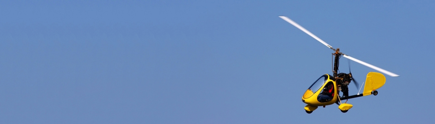 Flugerlebnis im Gyrocopter
