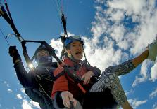 Action Gleitschirmtandemflug in Österreich