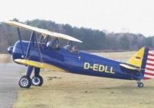 Rundflug Flugzeug am Boden