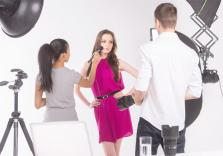 Styling beim Fotoshooting