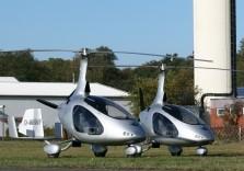 Gyrokopter am Boden