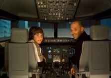 Spaß im Flugsimulator