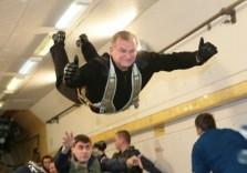 Parabelflug in der Schwerelosigkeit