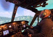 Bell Huey im Simulator fliegen