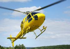 Gelber Helikopter