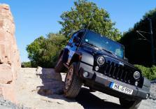 Jeep Wrangler fahren
