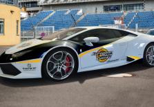 Lamborghini Huracán Rennstreckentraining