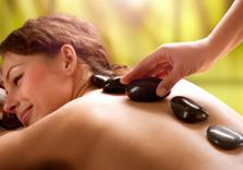 30 Minuten Hot Stone Massage