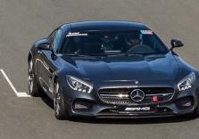 Mercedes Renntraining
