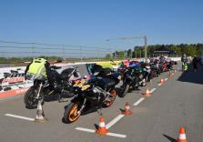 Motorrad Rennstreckentraining