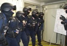 SWAT Einsatzplanung mit Gruppe