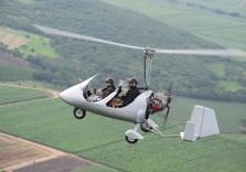 Gyrocopter Flug